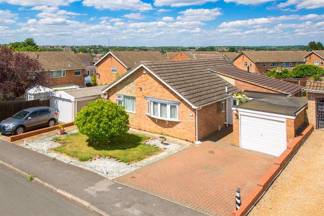 Thumbnail Detached bungalow for sale in St. Leonards Close, Kettering
