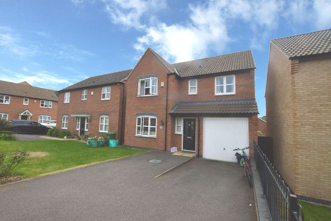 Thumbnail Detached house to rent in Pipistrelle Way, Oadby, Leicester
