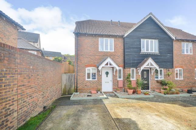Thumbnail Semi-detached house for sale in Badgers Den, Ashford, Kent