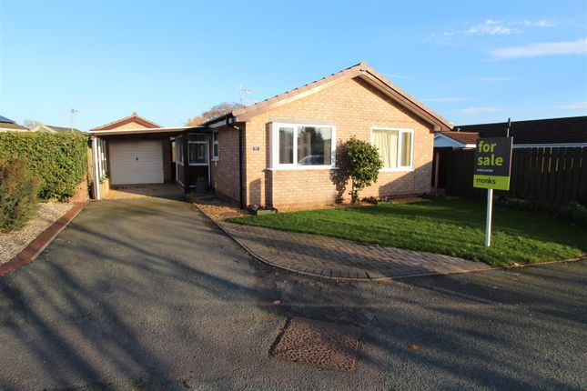 Thumbnail Detached bungalow for sale in Trentham Road, Wem, Shrewsbury