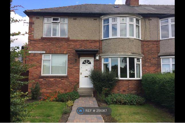 Thumbnail Flat to rent in Low Fell, Gateshead