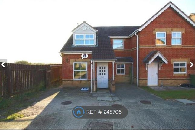 Thumbnail Semi-detached house to rent in Piperwell Close, Heckmondwike
