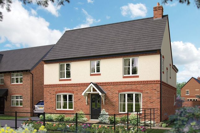 "Thumbnail Detached house for sale in ""The Ansell"" at Harbury Lane, Heathcote, Warwick"
