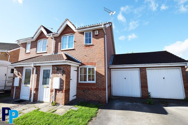 Thumbnail Semi-detached house to rent in Tuphall Close, Chellaston, Derby