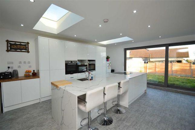 Thumbnail Semi-detached bungalow for sale in Kelston Road, Barkingside, Essex