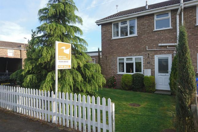 Thumbnail End terrace house for sale in Peter Paine Close, Butterwick, Boston