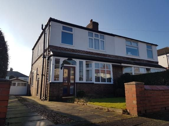 Thumbnail Semi-detached house for sale in Harcourt Road, Altrincham, Greater Manchester