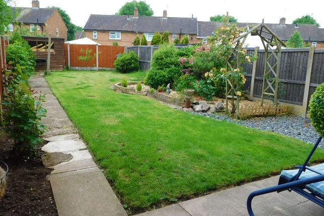 Rear Garden of 8 Morton Road, Moss Pitt, Stafford. ST17