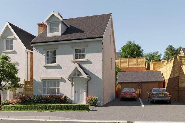 Thumbnail Detached house for sale in Plot 11, Maes Helyg, Vicarage Road, Llangollen