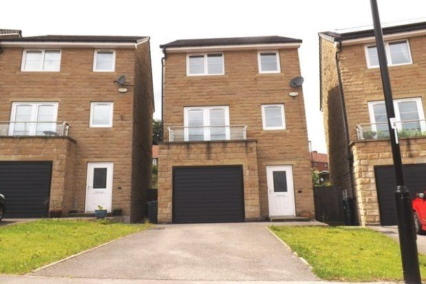 Thumbnail 4 bedroom town house to rent in Grenoside Grange Close, Sheffield