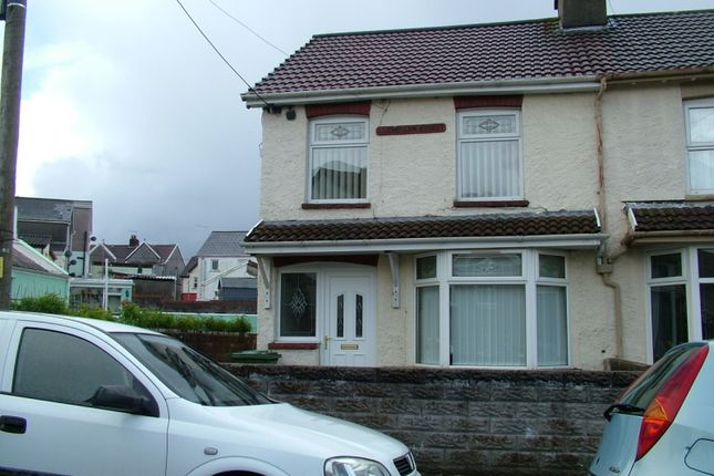 Thumbnail End terrace house to rent in Gilfach Goch -, Porth