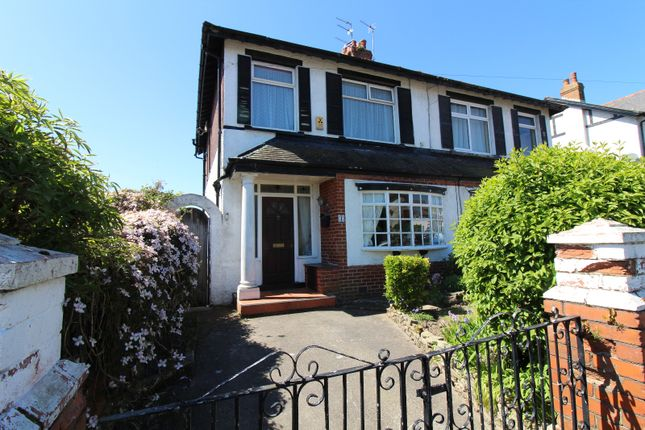 Thumbnail Semi-detached house to rent in Lancaster Avenue, Cleveleys