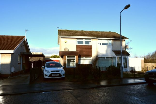 Thumbnail Semi-detached house to rent in Portreath Road, Chryston, Glasgow