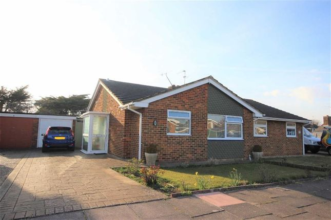 Thumbnail Semi-detached bungalow for sale in Poling Close, Goring-By-Sea, West Sussex