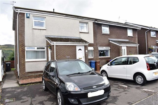 Thumbnail End terrace house for sale in 13, Crisswell Crescent, Greenock, Renfrewshire