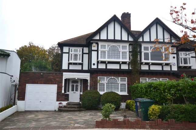 3 bed semi-detached house to rent in Abbots Gardens, East Finchley, London