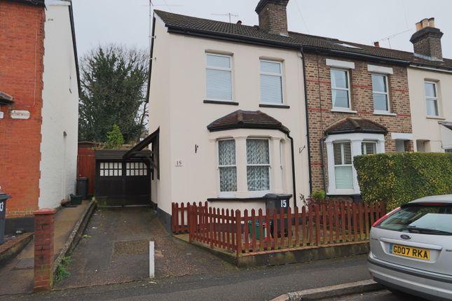 End terrace house for sale in Little Roke Avenue, Kenley