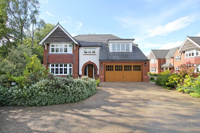 Thumbnail Detached house for sale in Waring Close, Glenfield, Leicester