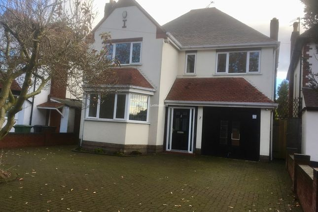 Thumbnail Detached house to rent in Bradmore Road, Wolverhampton