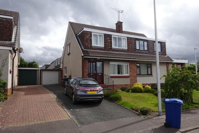 Thumbnail Semi-detached house to rent in Mayburn Avenue, Loanhead, Midlothian
