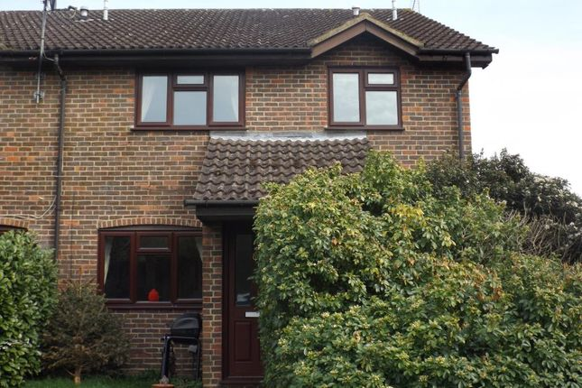 Thumbnail End terrace house to rent in Spruce Drive, Lightwater