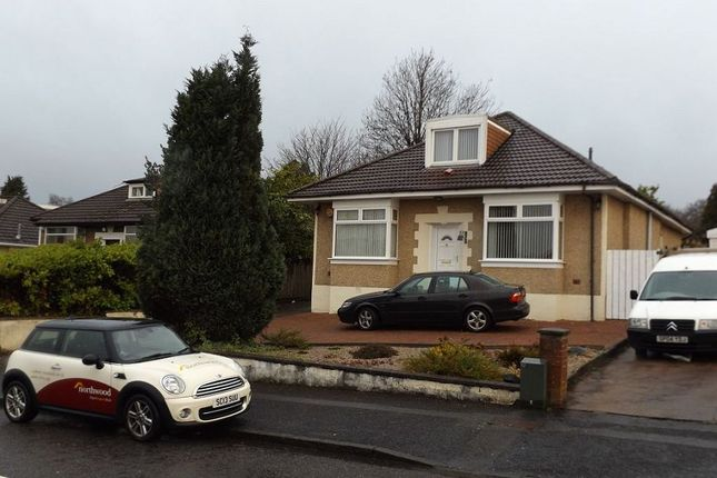 Thumbnail Detached bungalow to rent in Rannoch Drive, Bearsden, Glasgow