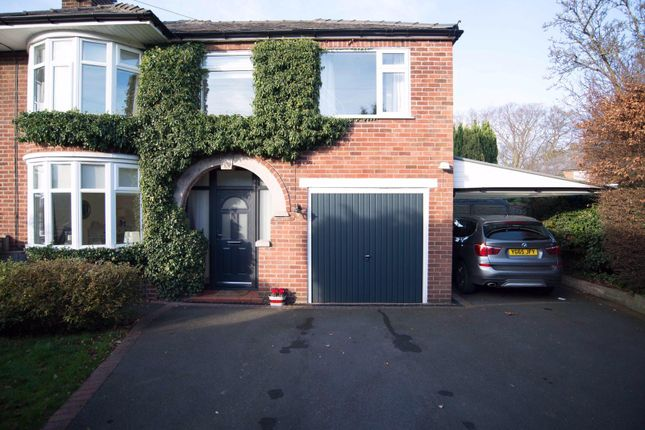 Thumbnail Semi-detached house for sale in 7 Parker Avenue, Northwich, Cheshire