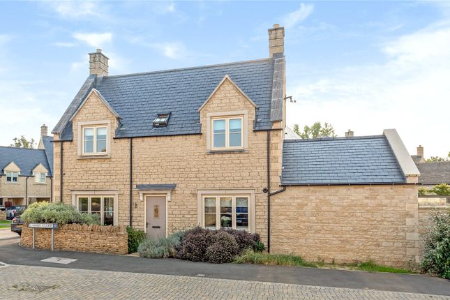 Thumbnail Link-detached house for sale in Fairford, Gloucestershire