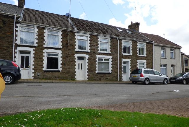 Thumbnail Terraced house for sale in Nanthir Road, Blaengarw, Bridgend
