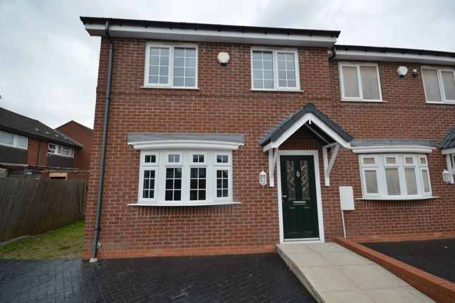 Thumbnail Terraced house for sale in Urban Gardens, Wellington, Telford