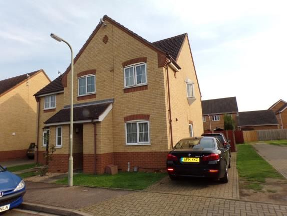 Thumbnail Semi-detached house for sale in Barkers Lane, Bedford, Bedfordshire