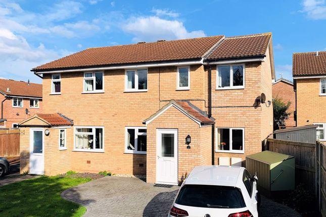 Thumbnail Semi-detached house for sale in Kenwyn Close, Taunton