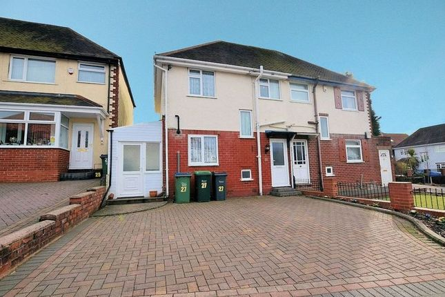 Thumbnail Semi-detached house for sale in Grove Road, Oldbury