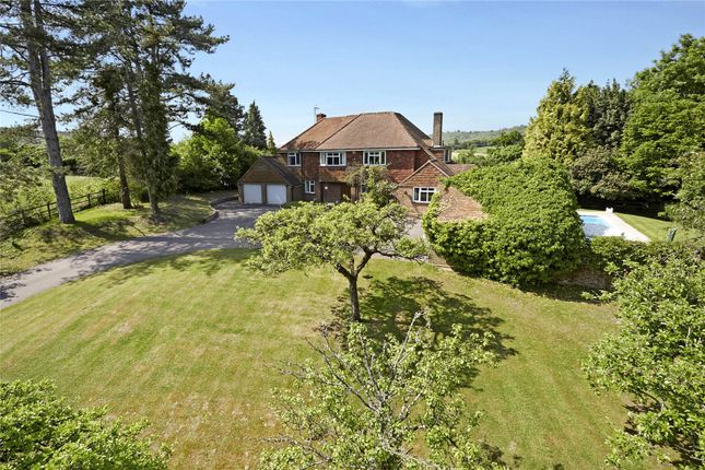 Thumbnail Detached house for sale in Mickleham Drive, Leatherhead, Surrey