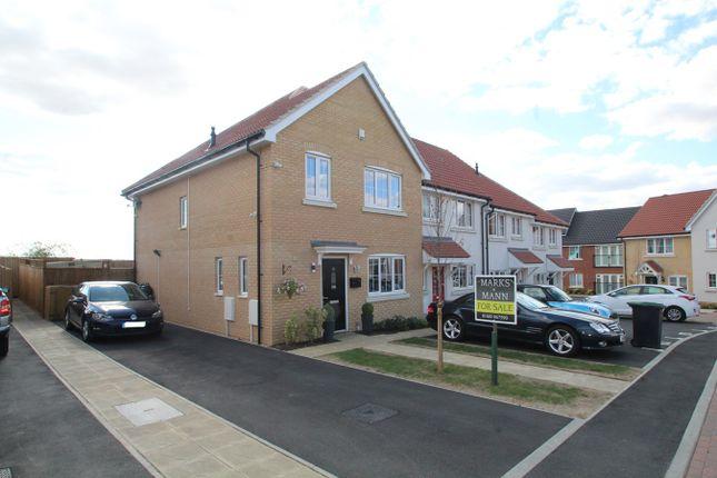 Thumbnail Semi-detached house for sale in Egret Drive, Stowmarket