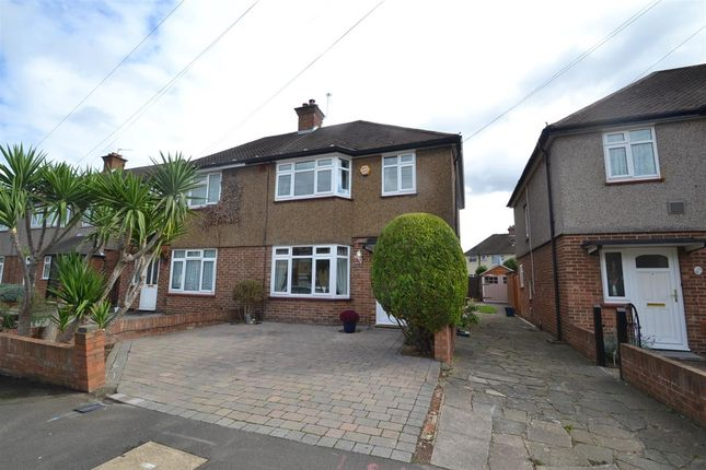 Thumbnail Semi-detached house for sale in Orchard Avenue, Feltham