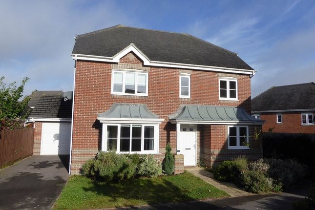 Thumbnail Detached house for sale in Wiltshire Crescent, Worting, Basingstoke