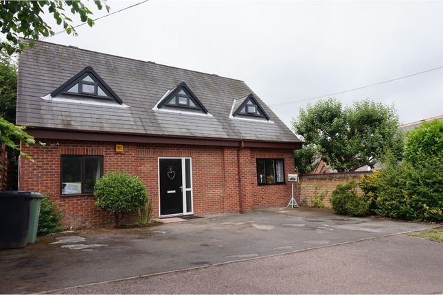 Thumbnail Detached bungalow for sale in Valley House Overlees, Dronfield