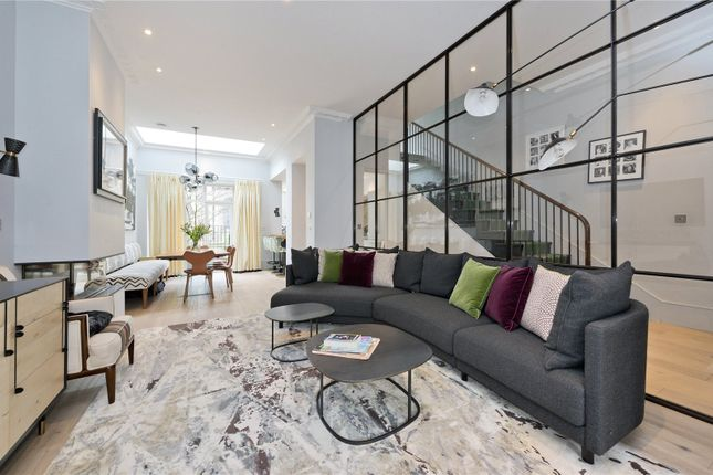 Thumbnail Terraced house to rent in Lower Addison Gardens, London