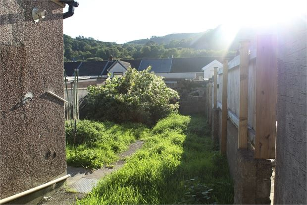 Garden of Bute Street, Treorchy, Rct. CF42