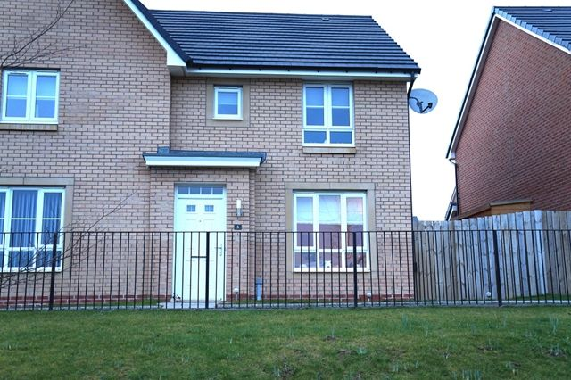 Thumbnail Semi-detached house for sale in Colts Castle View, Stonehouse, Larkhall