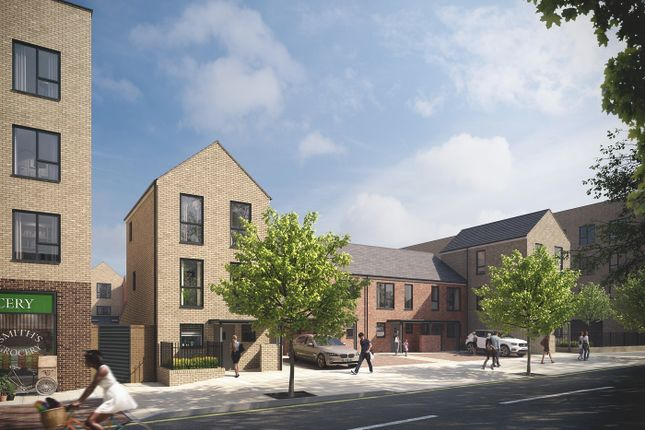 Thumbnail Town house for sale in Station Approach, South Oxhey, Hertfordshire