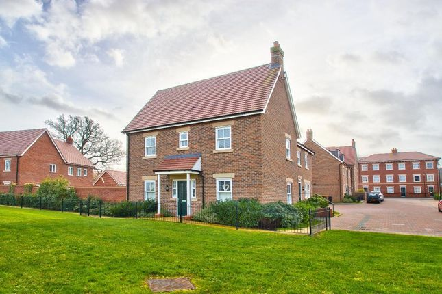 Thumbnail Detached house for sale in Crowsley Road, Kempston, Bedford