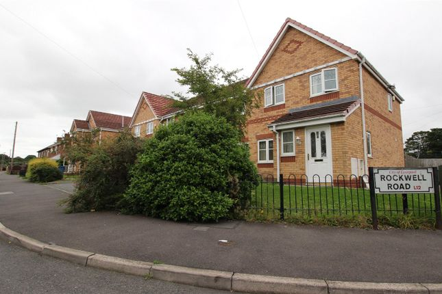 Thumbnail End terrace house for sale in Rockwell Road, Liverpool, Merseyside