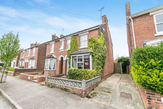 Thumbnail Semi-detached house for sale in Hamilton Road, Colchester