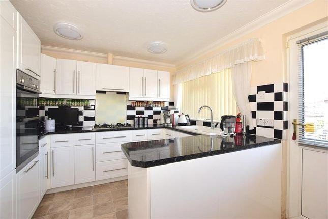Thumbnail Detached bungalow for sale in Denness Path, Lake, Isle Of Wight