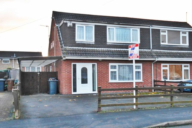 Thumbnail Semi-detached house to rent in Blankney Close, Stenson Fields, Derby