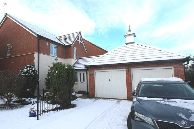 Thumbnail Detached house for sale in Goldthorpe Close, Northburn Manor, Cramlington