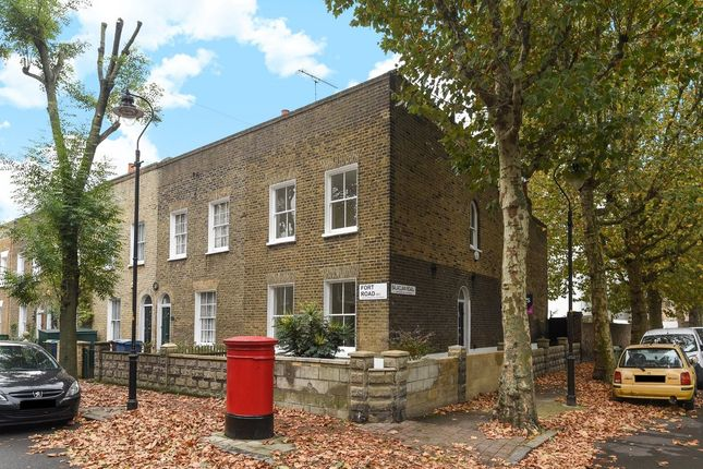 Thumbnail End terrace house for sale in Fort Road, London