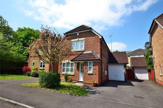 Thumbnail Link-detached house to rent in Leverkusen Road, Bracknell, Berkshire